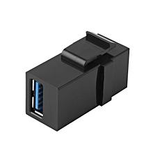Keystone USB 3.0 A Female To Female Jack Module Adapter Converter Power Socket