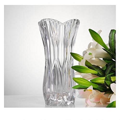 Buy New Crystal Glass Flower Vase Best Price Online Jumia Kenya