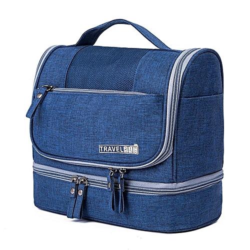 Generic 2018 new travel scrub wash bag cosmetic bag men and women  waterproof bath bag portable storage bag digital package   Best Price  20dc9d3b21291
