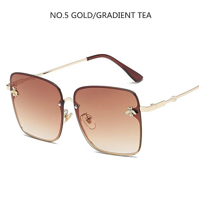 107bd1afd 2019 Square Sunglasses Women Glasses Lady Luxury Retro Metal Sun Glasses  Vintage Mirror Oculos De Sol