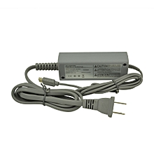new AC Adapter for Nintendo Wii U Gamepad - Charging Cable / Cord-Gray