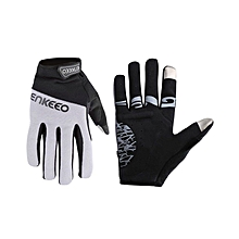 Full Finger Unisex Cycling Gloves - Black/Grey