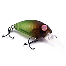 DW40 32mm Trulinoya Bare King Mini Fishing Lure Hard Bait With Hook Fishing Gear-BLACKISH GREEN