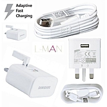 Android Adaptive Charger for all phones - White