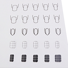 Nail Art Practice Silicone Mat Pad Coloring Polish Stamping Transfer Palette