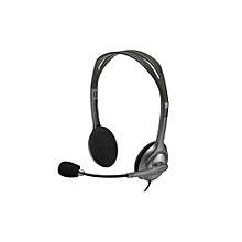 Stereo Headset H111 - Grey