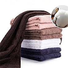 Soft Cotton Towel Absorbent Luxury Hand Face Wash Bathroom Beach Sheet Towels #34*85cm