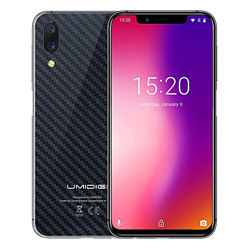 One Pro 4G Phablet 5.86 inch Android 8.1 MTK6763 Octa Core 4GB + 64GB - BLACK