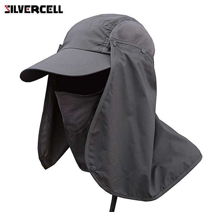 dadc7245b Sun Caps Flap Hats 360 degree Solar UV Protection Sun Hat Summer Men Women  Sun Visor