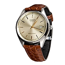 Analog Round Face Men's Watch mtp-1175e-9adf