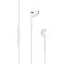 In-Ear Earphone With Remote Control And Microphone For IPhone / IPad / IPod - White