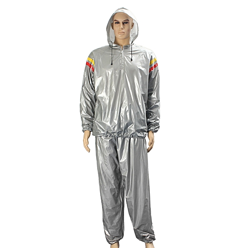 Heavy Duty Weight Loss Slim Sweat Exercise Gym Fitness Sauna Suit Hoodie 3xl