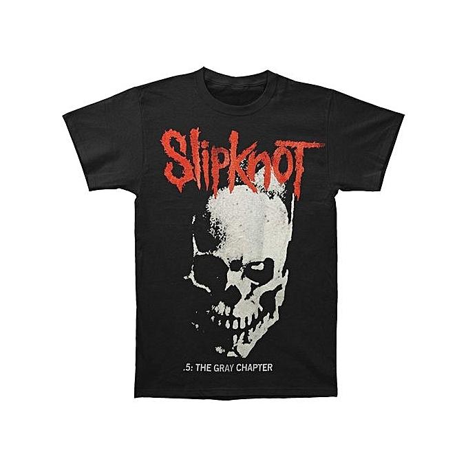 ddf321cb7d02e Custom Funny Mens T Shirts Slipknot Skull And Tribal T-Shirt Medium Short  Sleeve Summer
