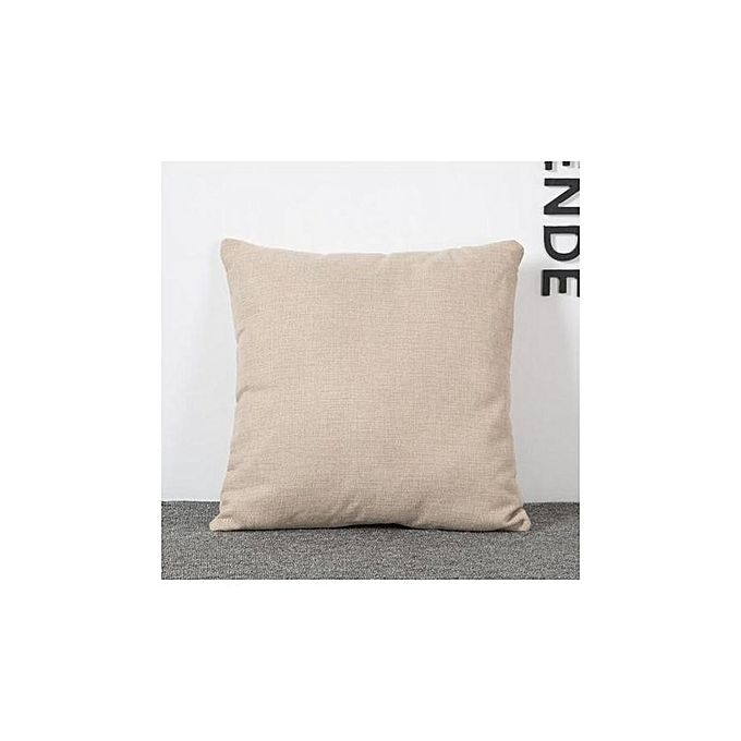 Throw Pillow Jumia : Magideal Vintage Cotton Linen Throw Pillow Case Buy online Jumia Kenya