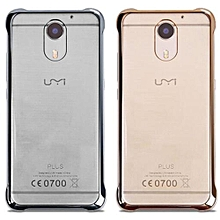 Translucent PC Clear Protective Hard Back Cover Case For UMI Plus UMI Plus E