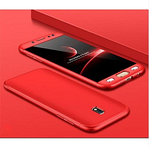 Generic For Galaxy J7 Pro 2017 Case 360 3in1 Full Protection Hard Casing Back Cover For Samsung Galaxy J7 2017 / J730 Housing Shell EU Edition 298419 c-1 ...