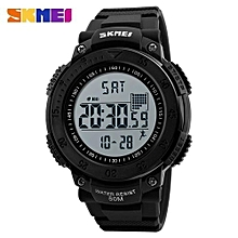 brand digital watch men pedometer 3d multifunctional sports watches relojes waterproof relogio masculino wristwatches 1238
