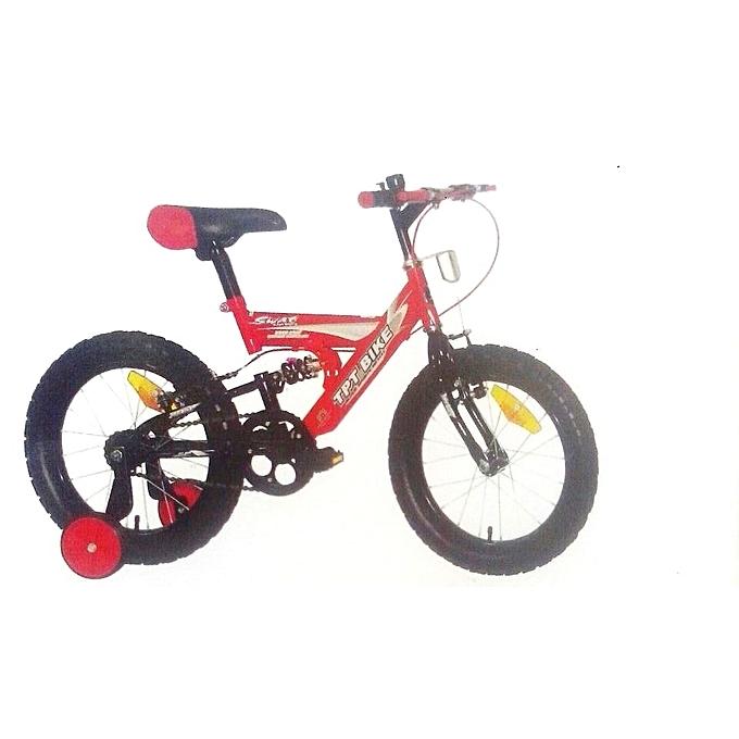 Exercise Bike Jumia Kenya: JayKe Collections Kid's Bike-TPT 16''-Red & Black 4-8yrs