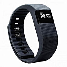 Fitness Tracker, Sleep Monitor Calorie Counter Pedometer Sport Activity Tracker for Android and iOS Smart Phone-Black