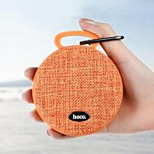 HOCO BS7 Sport Bluetooth Portable Stereo Speaker Orange JY-M