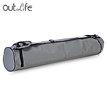 Yoga Mat Bag Cloth Strap Enduring and Water Resistant - Gray