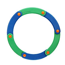 Softoys Eva Dance Fly Ring Children Safe Toys Foam Grasping Movement Beach Play Toys -