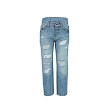 Blue Fashionable Jeans