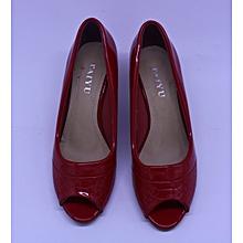 Taiyu Red Leather high heels