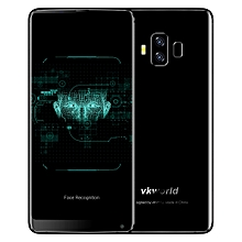 VKworld S8, 4GB+64GB, Dual Back Cameras, Face & Fingerprint Identification, 5500mAh Battery, 5.99 inch Full Screen Android 7.0 MTK6750T Octa Core up to 1.5GHz, Network: 4G, Dual SIM(Black)
