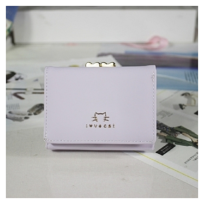 Kitty Purplethe New Style Of Han Ban S Purse Female Short Amiability Folds Clip