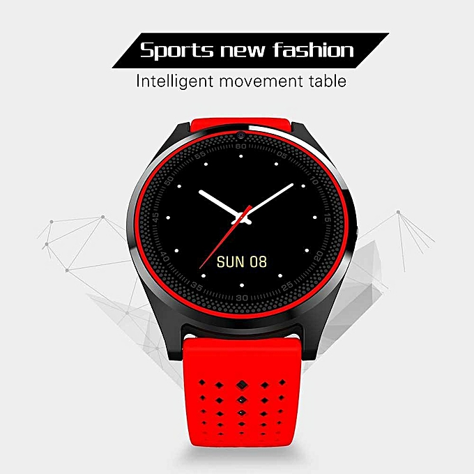 2018 latest V9 smart watch, call function entertainment MP3, MP4 local  play, Bluetooth music play, call reminder, two-way anti-lost, watch photo: