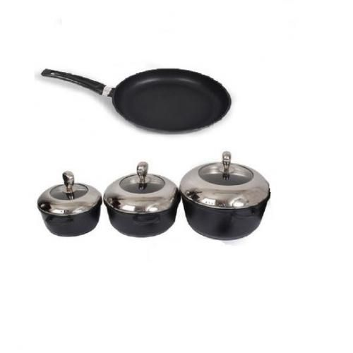 Sonaya 3 Nonstick Cooking Pots Amp 32 Cm Non Stick Frying