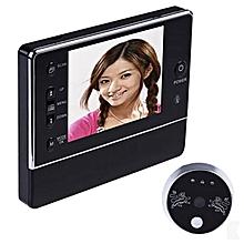 "3.5"" LCD Screen Monitor Video IR Camera Doorbell Peephole Intercom Security"
