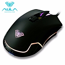 9002S RGB GAMING WIRED MOUSE MICE, 1 year warranty,dota2,league of legend,cs go overwatch,mobile legend HT