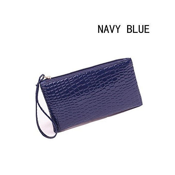 Fashion 1 Pcs Women Crocodile Leather Clutch Handbag Bag Coin Purse ... 429e64f75ea6d