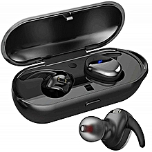 T2C Real Touch TWS Waterproof Wireless Bluetooth Sports Headphones Stereo Hands-free IPX5 Waterproof Anti-sweat Not Easy To Get Dirt Mini Wireless Earbuds   With Microphone