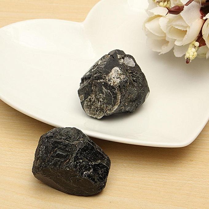 8653b6c2dfd5f 100G Natural Rough Black Tourmaline Quartz Crystal Stone Specimen Healing  Gem