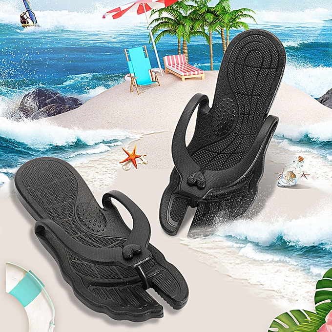 6f057ff85d61 Fashion Couple Beach Flip Flops Beach Anti-Slip Home Slippers   Best ...