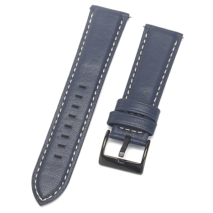 476eafa2d07a1 22mm Quick Release Leather Watch Band Wrist Strap For Fossil Q Founder Gen  1/2