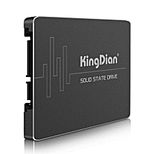 KingDian S180 Solid State Drive SSD 2.5 Inch SATA3 2-CH For Computer Hardware-BLACK