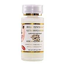 Hulle Teint Diamant, Glutathione Comprime Acide Hyaluronic + UV Strong Whitening body oil  -  (120ml)