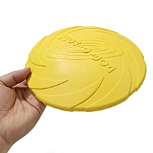 Dog Training Toys Milk Scent Pure Natural Rubber Frisbee Round Teething Toy