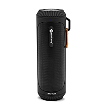 NR - 4016 Outdoor Wireless Bluetooth Stereo Speaker Portable Player-BLACK