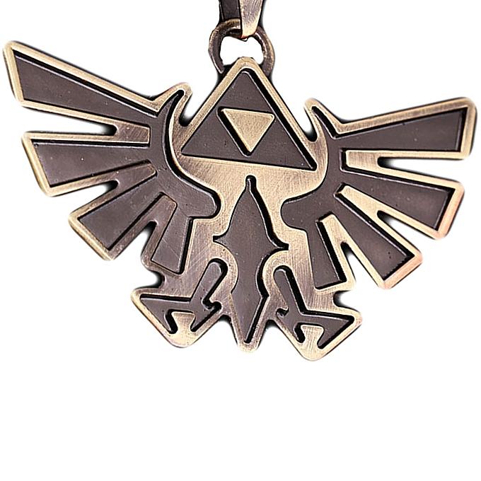 Buy fashion 1pc stainless steel triforce symbol hyrule legend of 1pc stainless steel triforce symbol hyrule legend of zelda pendant chain necklace aloadofball Choice Image
