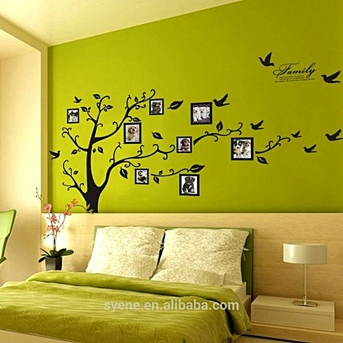 3D Wall Sticker Home Decoration-Family Photo Frame Tree Wall ...