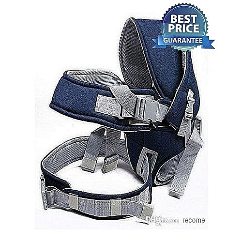 Generic Best and comfortable Baby Carrier With a Hood - Navy Blue
