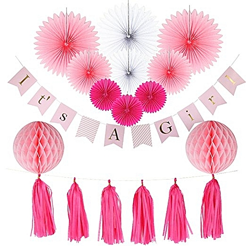 General Baby Shower Decoration Kit For A Girl Best Price Jumia Kenya