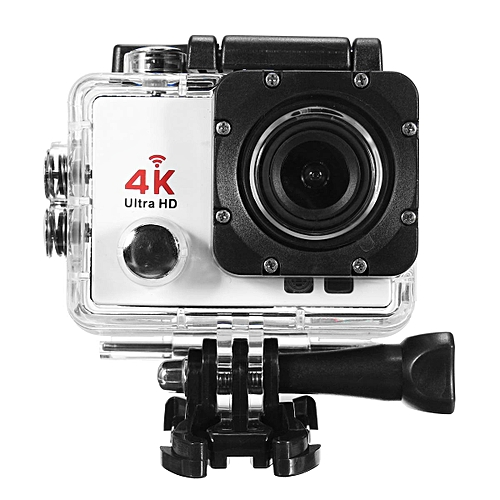 Wifi 1080P 16MP 4K Ultra HD Sports Action Camera DVR DV Cam Camcorder  Waterproof White
