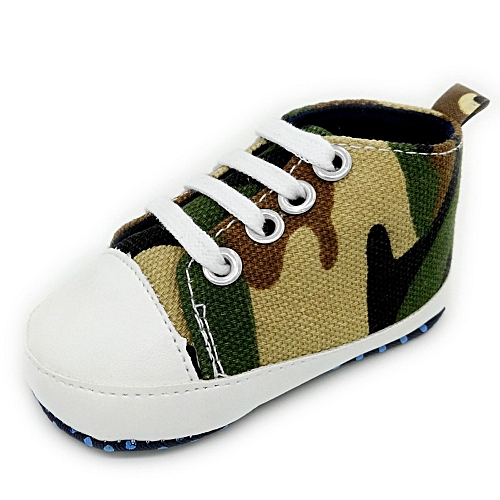 40a155c035cf3 Neworldline Toddler Baby Shoes Camouflage Sneaker Anti-slip Soft Sole  Toddler Canvas Shoes- Camouflage - Camouflage