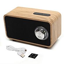 Digitalradio DAB+ Radio Wecker Tuner Bluetooth Lautsprecher LCD-Display Walnuss Wood color